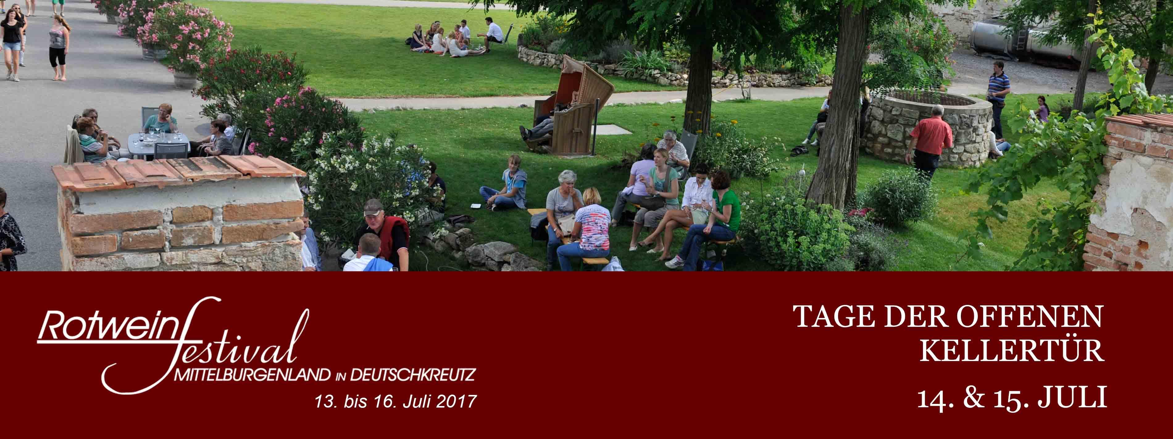 Rotweinfestival_Tage d. offenen Kellertuer