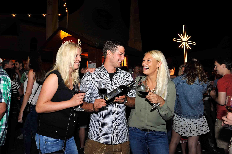 Rotweinverkostung in Deutschkreutz