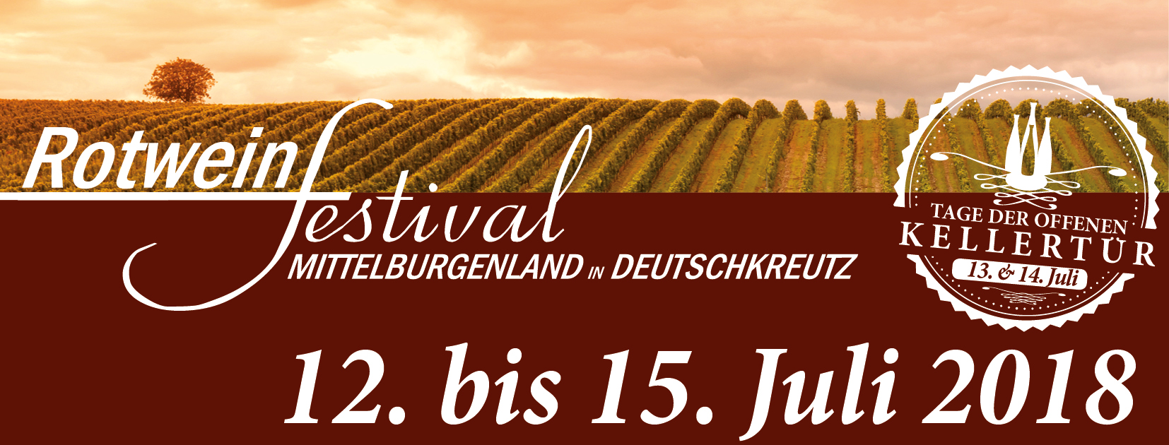 Rotweinfestival Mittelburgenland 2018